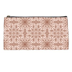 Ornamental Brown Pencil Cases by snowwhitegirl