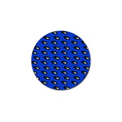 Eyes Blue Golf Ball Marker by snowwhitegirl