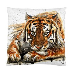 Tiger Sign Standard Cushion Case (two Sides) by kostart
