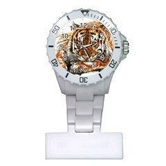 Tiger Sign Plastic Nurses Watch