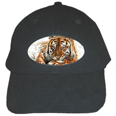Tiger Sign Black Cap