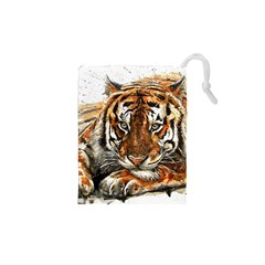Tiger Sign Drawstring Pouch (xs)