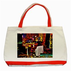 Painted House Classic Tote Bag (red)