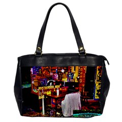 Painted House Oversize Office Handbag