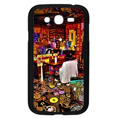 Painted House Samsung Galaxy Grand Duos I9082 Case (black) by MRTACPANS