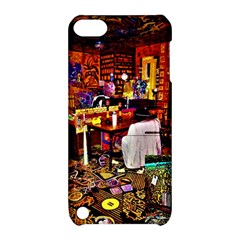 Painted House Apple Ipod Touch 5 Hardshell Case With Stand