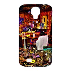 Painted House Samsung Galaxy S4 Classic Hardshell Case (pc+silicone)