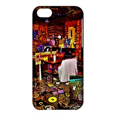Painted House Apple Iphone 5c Hardshell Case
