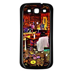 Painted House Samsung Galaxy S3 Back Case (black)