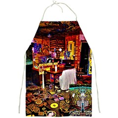 Painted House Full Print Aprons