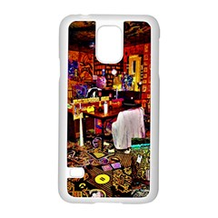 Painted House Samsung Galaxy S5 Case (white)