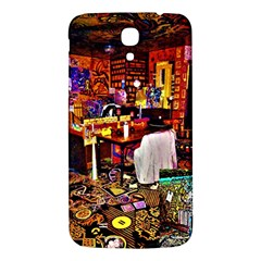 Painted House Samsung Galaxy Mega I9200 Hardshell Back Case by MRTACPANS
