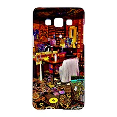 Painted House Samsung Galaxy A5 Hardshell Case  by MRTACPANS