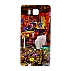 Painted House Samsung Galaxy Alpha Hardshell Back Case by MRTACPANS