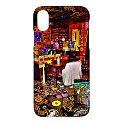 Painted House Apple Iphone X Hardshell Case by MRTACPANS