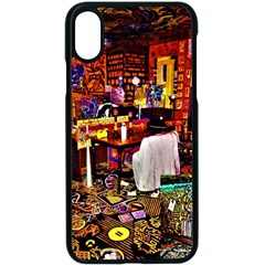 Painted House Apple Iphone X Seamless Case (black)
