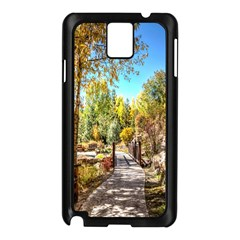 Landscape # 2 The Path Samsung Galaxy Note 3 N9005 Case (black)