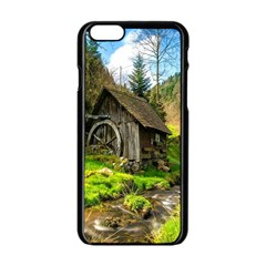 Landscape # 3 The Shed Apple Iphone 6/6s Black Enamel Case