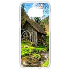 Landscape # 3 The Shed Samsung Galaxy S8 White Seamless Case