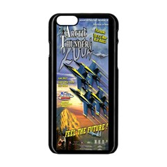 Vintage Poster 2  Air Force Apple Iphone 6/6s Black Enamel Case