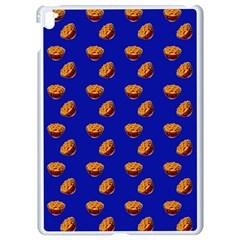 Kawaii Chips Blue Apple Ipad Pro 9 7   White Seamless Case