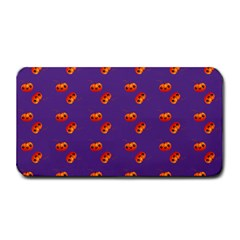 Kawaii Pumpkin Purple Medium Bar Mats
