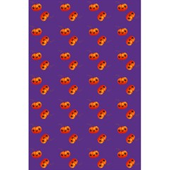 Kawaii Pumpkin Purple 5 5  X 8 5  Notebook