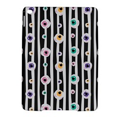 Pattern Eyeball Black And White Naive Stripes Gothic Halloween Ipad Air 2 Hardshell Cases