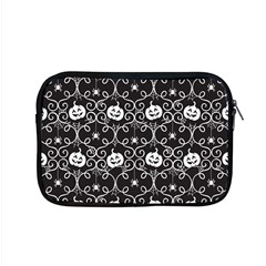 Pattern Pumpkin Spider Vintage Gothic Halloween Black And White Apple Macbook Pro 15  Zipper Case