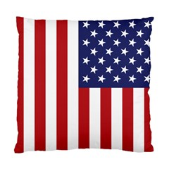 Us Flag Stars And Stripes Maga Standard Cushion Case (two Sides)