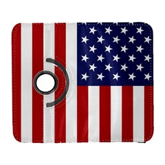 Us Flag Stars And Stripes Maga Samsung Galaxy S  Iii Flip 360 Case