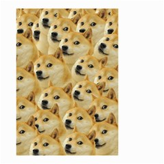 Doge Meme Doggo Kekistan Funny Pattern Small Garden Flag (two Sides) by snek