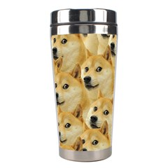 Doge Meme Doggo Kekistan Funny Pattern Stainless Steel Travel Tumblers by MAGA
