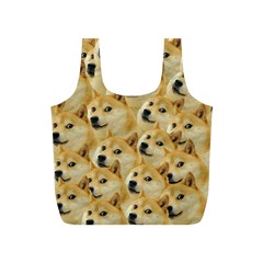Doge Meme Doggo Kekistan Funny Pattern Full Print Recycle Bag (s) by snek