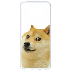 White Doge Meme Alone13k Cowcowshirt Black 15 10 10 100 Samsung Galaxy S8 White Seamless Case by snek