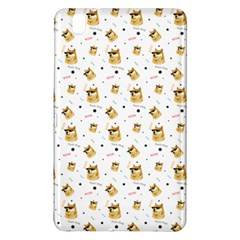 Doge Much Thug Wow Pattern Funny Kekistan Meme Dog White Samsung Galaxy Tab Pro 8 4 Hardshell Case by MAGA