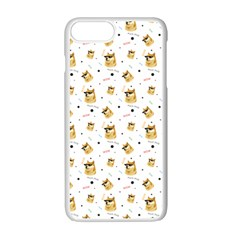 Doge Much Thug Wow Pattern Funny Kekistan Meme Dog White Apple Iphone 7 Plus Seamless Case (white) by MAGA