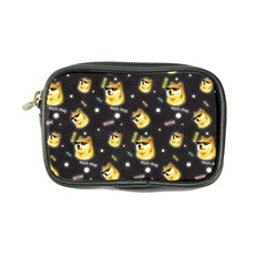 Doge Much Thug Wow Pattern Funny Kekistan Meme Dog Black Background Coin Purse by snek