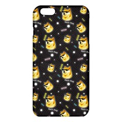Doge Much Thug Wow Pattern Funny Kekistan Meme Dog Black Background Iphone 6 Plus/6s Plus Tpu Case by MAGA