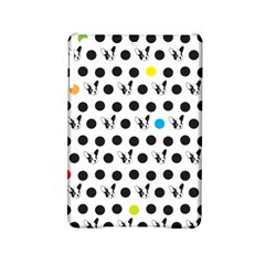 Boston Terrier Dog Pattern With Rainbow And Black Polka Dots Ipad Mini 2 Hardshell Cases