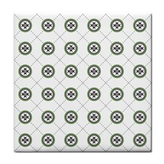Logo Kekistan Pattern Elegant With Lines On White Background Face Towel