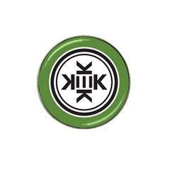 Official Logo Kekistan Circle Green And Black Hat Clip Ball Marker (10 Pack)