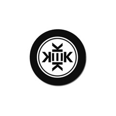 Official Logo Kekistan Circle Black And White Golf Ball Marker (10 Pack) by snek