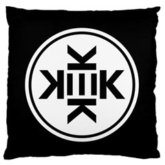 Official Logo Kekistan Circle Black And White Standard Flano Cushion Case (one Side)