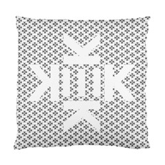 Logo Kek Pattern Black And White Kekistan Standard Cushion Case (two Sides)