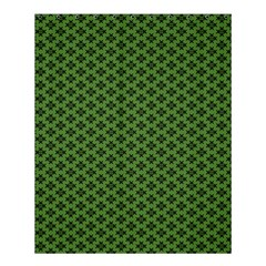 Logo Kek Pattern Black And Kekistan Green Background Shower Curtain 60  X 72  (medium)