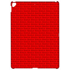 Maga Make America Great Again Usa Pattern Red Apple Ipad Pro 12 9   Hardshell Case by snek