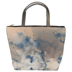 Deep Time Clouds Bucket Bag
