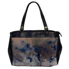 Deep Time Clouds Oversize Office Handbag