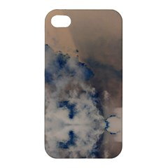 Deep Time Clouds Apple Iphone 4/4s Premium Hardshell Case by LoolyElzayat